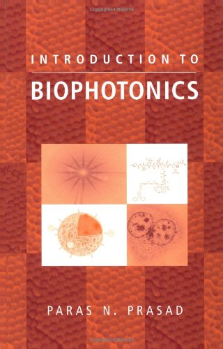 Introduction to Biophotonics   2003 9780471287704 Front Cover