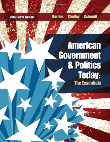 American Government and Politics Today  15th 2010 edition cover