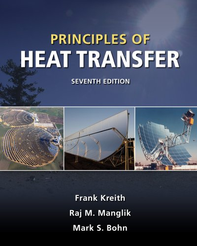 Principles of Heat Transfer  7th 2011 edition cover