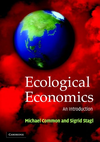 Ecological Economics An Introduction  2005 edition cover