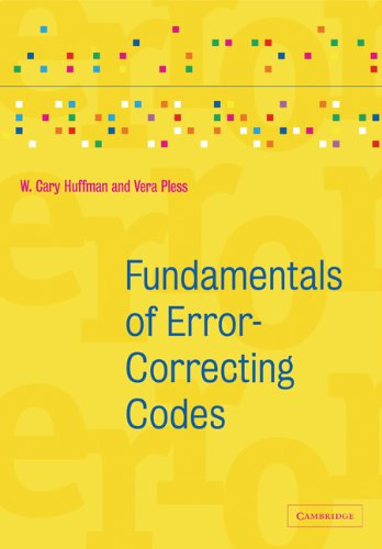 Fundamentals of Error-Correcting Codes   2010 9780521131704 Front Cover