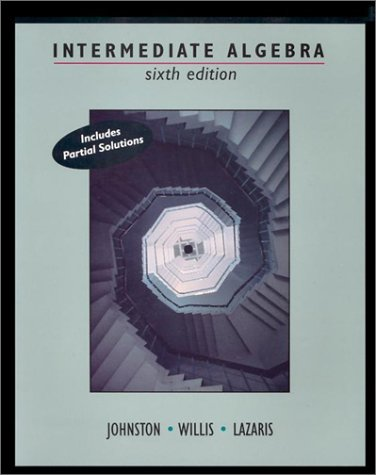 Intermediate Algebra  6th 1995 (Revised) edition cover