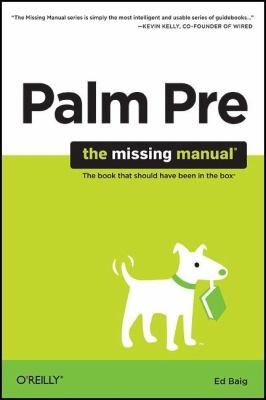 Palm Pre   2009 9780596803704 Front Cover