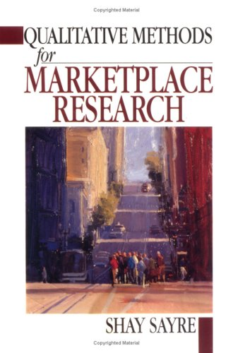 Qualitative Methods for Marketplace Research   2001 edition cover