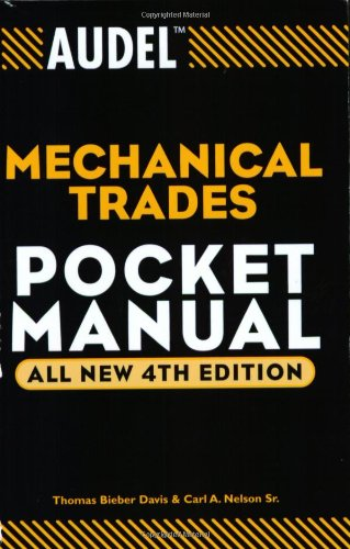 Audel Mechanical Trades Pocket Manual  4th 2004 (Revised) edition cover