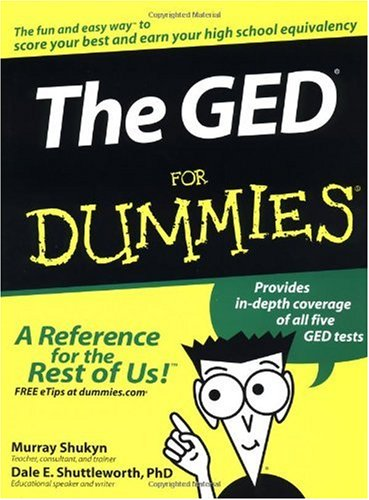 GED for Dummies�   2003 edition cover