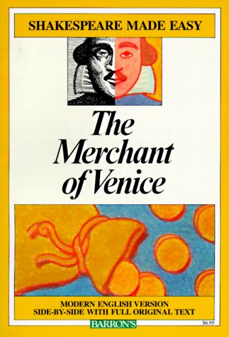 Merchant of Venice   1985 edition cover