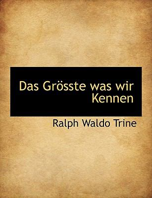 Gr�sste Was Wir Kennen  N/A 9781115269704 Front Cover
