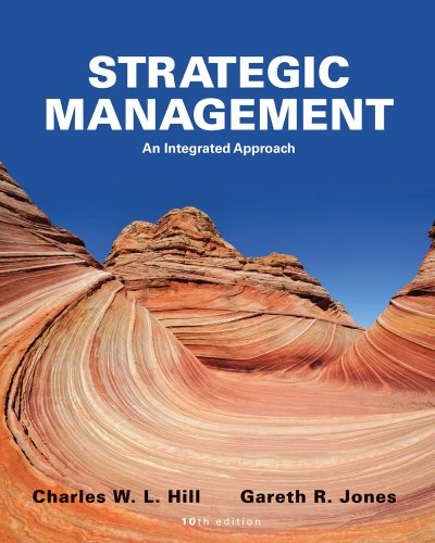 Strategic Management Theory An Integrated Approach 10th 2013 edition cover