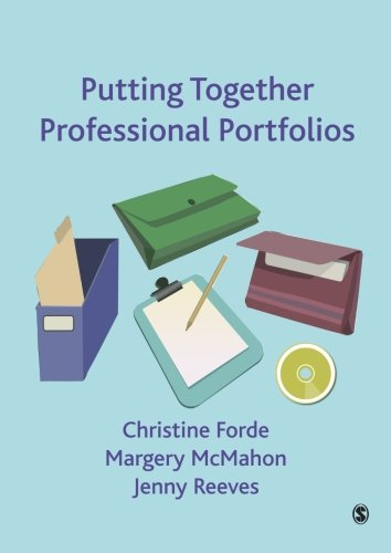 Putting Together Professional Portfolios   2009 edition cover