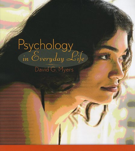 Psychology in Everyday Life and EBook   2009 edition cover