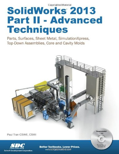 SolidWorks 2013 Part II - Advanced Techniques  N/A edition cover
