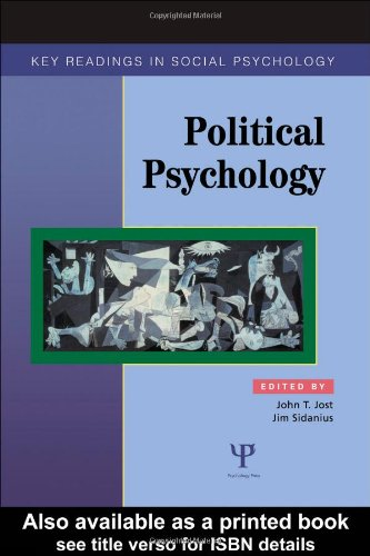 Political Psychology Key Readings  2004 edition cover