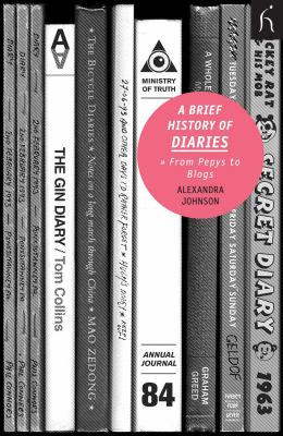 Brief History of Diaries From Pepys to Blogs  2010 edition cover