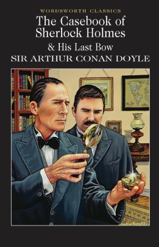 Casebook of Sherlock Holmes and His Last Bow   1993 edition cover