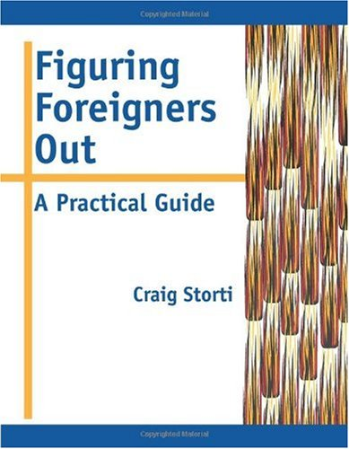 Figuring Foreigners Out A Practical Guide  1999 edition cover
