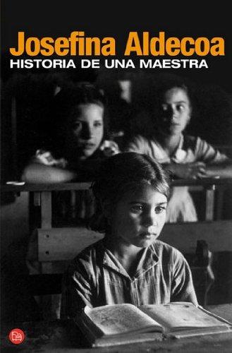 HISTORIA DE UNA MAESTRA N/A edition cover