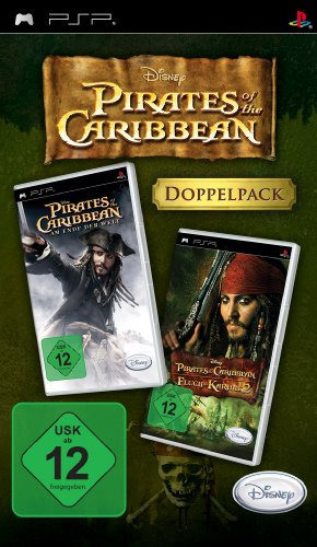 Pirates of the Caribbean - Am Ende der Welt & Fluch der Karibik 2 (Doppelpack) Sony PSP artwork