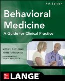 Behavioral Medicine: A Guide for Clinical Practice  2014 edition cover