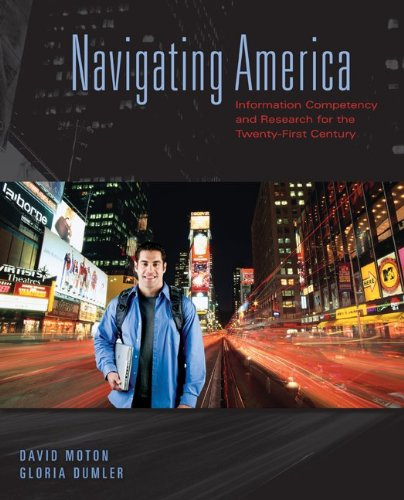 Navigating America Information Competency and Research for the Twenty-First Century  2010 edition cover