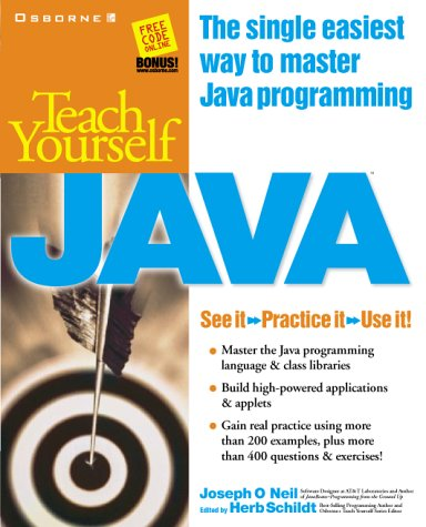 Teach Yourself Java   1998 9780078825705 Front Cover