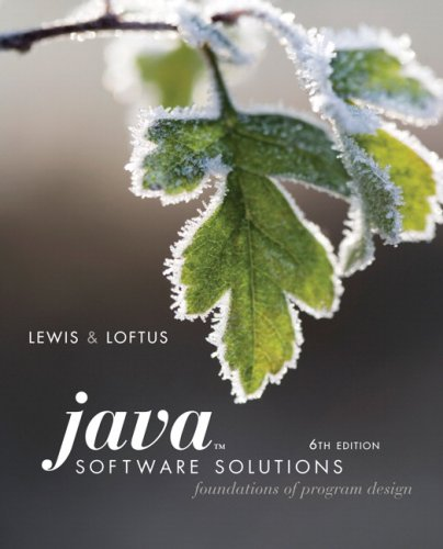 Java Software Solutions: Foundations of Program Design + Mycodemate Student Access Kit  2008 9780135050705 Front Cover
