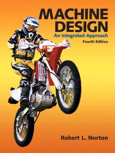 Machine Design  4th 2011 edition cover