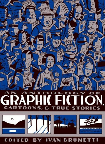 Anthology of Graphic Fiction, Cartoons, and True Stories   2006 edition cover