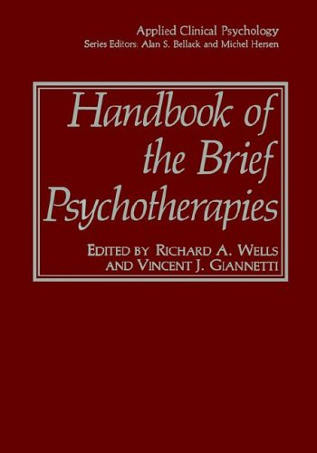 Handbook of the Brief Psychotherapies   1990 9780306432705 Front Cover