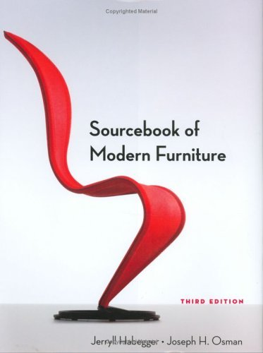 Sourcebook of Modern Furniture  3rd 2004 edition cover