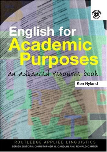 English for Academic Purposes An Advanced Resource Book  2006 edition cover