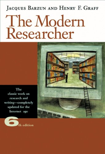 Modern Researcher  6th 2004 (Revised) edition cover