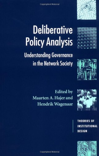 Deliberative Policy Analysis Understanding Governance in the Network Society  2003 edition cover