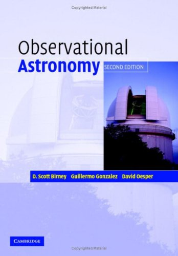 Observational Astronomy  2nd 2006 (Revised) 9780521853705 Front Cover