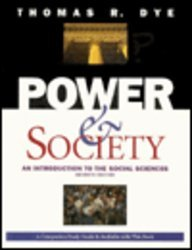 Power and Society : An Introduction to the Social Sciences 7th 1996 edition cover