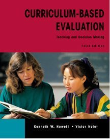 Curriculum-Based Evaluation Teaching and Decision Making 3rd 2000 (Revised) edition cover