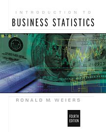 Introduction to Business Statistics  4th 2002 edition cover