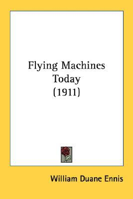 Flying MacHines Today N/A 9780548670705 Front Cover