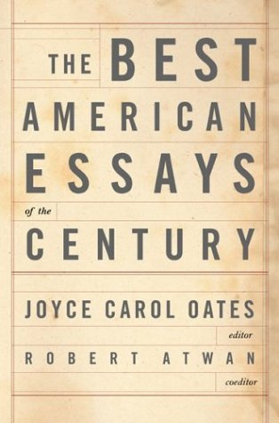 Best American Essays of the Century   2000 (Teachers Edition, Instructors Manual, etc.) edition cover