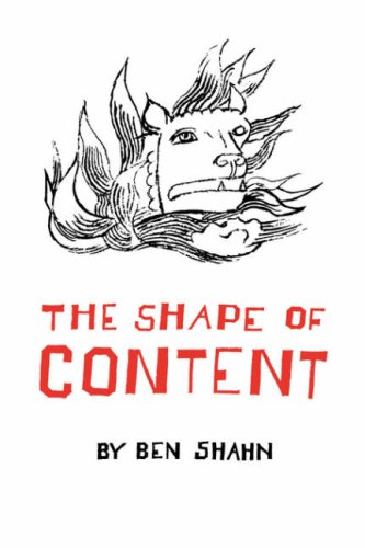 Shape of Content   1957 edition cover