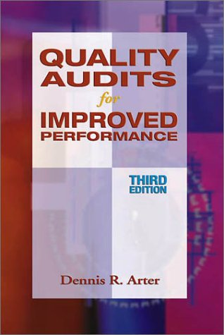 Quality Audits for Improved Performance 3rd 2002 edition cover