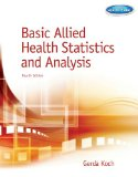 Basic Allied Health Statistics and Analysis:   2014 edition cover