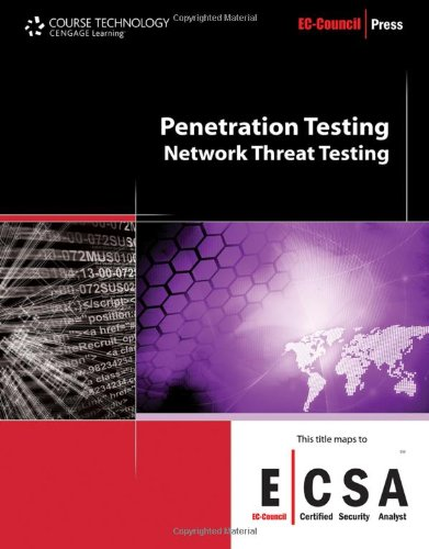 Penetration Testing Network Threat Testing  2011 edition cover