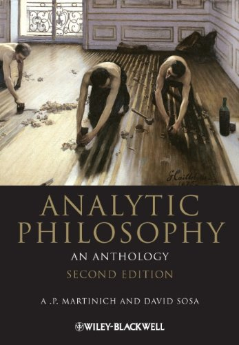 Analytic Philosophy An Anthology 2nd 2011 edition cover