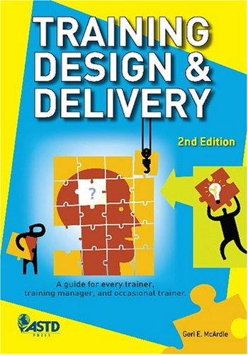 Training Design and Delivery  2nd 2007 edition cover