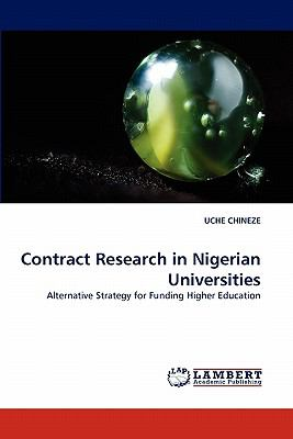 Contract Research in Nigerian Universities  N/A 9783838325705 Front Cover