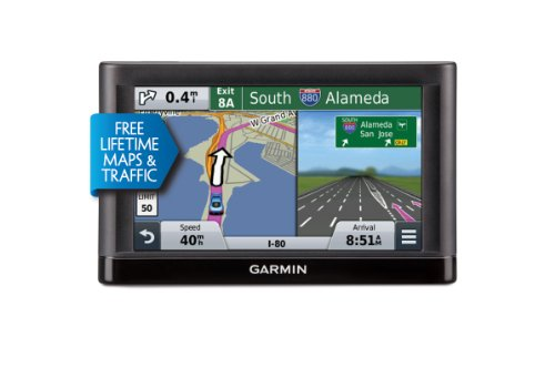 Garmin nüvi 65LMT GPS Navigators System with Spoken Turn-By-Turn Directions, Preloaded Maps and Speed Limit Displays (Lower 49 U.S. States) product image