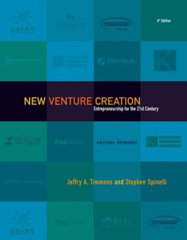 New Venture Creation Entrepreneurship for the 21st Century with PowerWeb and New Business Mentor 6th 2004 (Revised) edition cover