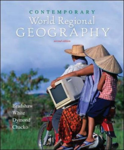 Contemporary World Regional Geography with Interactive World Issues CD-ROM  2nd 2007 (Revised) 9780073302706 Front Cover