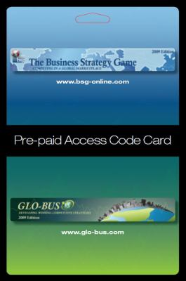 BSG The Business Strategy Game Access Code:  2010 9780078112706 Front Cover